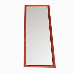 Modell 165 Spiegel mit Rahmen aus Teak von Kai Kristiansen für Aksel Kjersgaard, 1960er