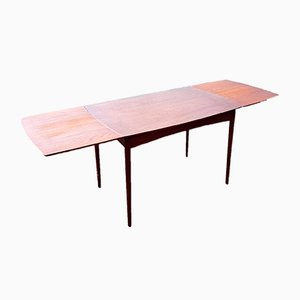 Ausziehbarer dänischer Tisch aus Teak, 1960er