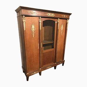 Large Empire Style French Cabinet, 1920s