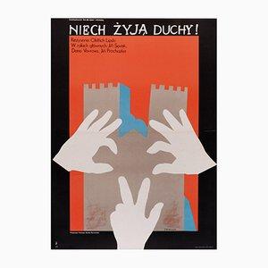 Affiche de Film Niech Zyja Duchy - Love Live The Ghosts, Pologne, 1977