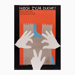 Polnisches Niech Zyja Duchy Love Live The Ghosts Filmplakat, 1977
