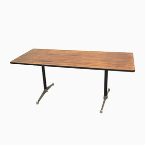 Vintage Rosewood Action Desk by Charles & Ray Eames for Herman Miller
