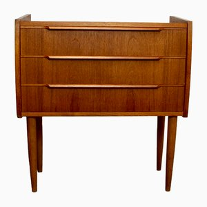 Vintage Danish Teak Chest of Drawers, 1950s