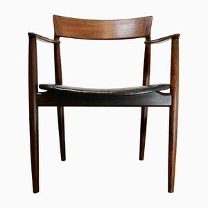 Dänischer Vintage Armlehnstuhl aus Palisander von Henry Rosengren Hansen für Brande Møbelindustri, 1960er