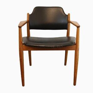 Dänischer Vintage 62 A Armlehnstuhl aus Teak von Arne Vodder für Sibast Møbler