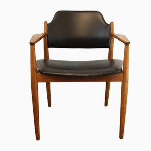 Vintage Danish 62 A Teak Armchair by Arne Vodder for Sibast Møbler