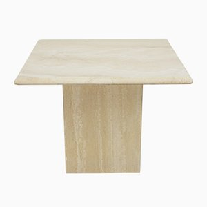 Travertine Side Table, 1970s