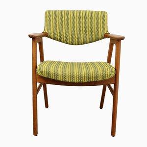 Dänischer Vintage Armlehnstuhl aus Teak von Erik Kierkegaard für Høng Stolefabrik, 1960er