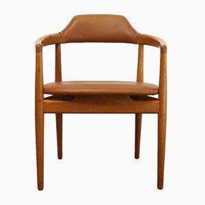 Dänischer Vintage Armlehnstuhl aus Teak, 1960er