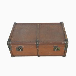 Vintage Travel Trunk from D.R.G.M. & Others, 1920s