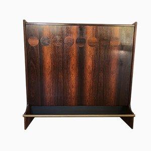 Mueble bar modelo SK661 Mid-Century de palisandro de Johannes Andersen para J. Skaaning & Søn