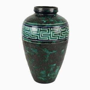 Vintage Maander Vase von Ceramano, 1960er