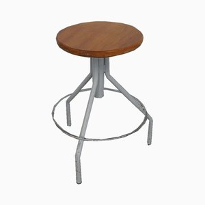 Vintage Industrial Swivel Stool, 1960s