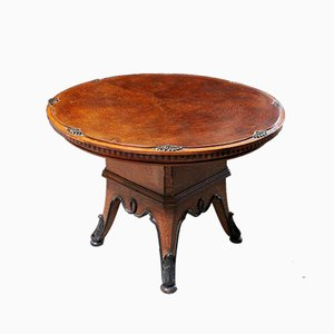 Art Nouveau Thuja Briar Tea Table, 1800s
