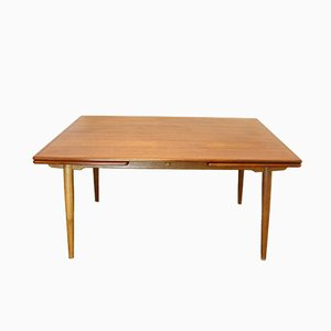 Vintage Danish AT312 Dining Table by Hans J. Wegner for Andreas Tuck