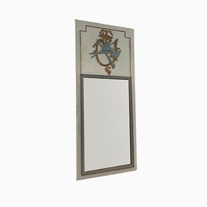 Espejo trumeau estilo Luis XVI de madera tallada, década de 1780