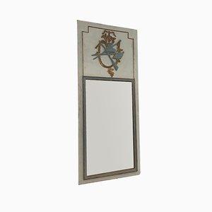 Trumeau Spiegel mit Rahmen aus geschnitztem Holz im Stil von Louis 16., 1780er