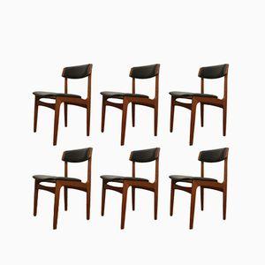 Dänische Vintage Esszimmerstühle aus Teak von Thorsø Møbelfabrik 1960er, 6er Set