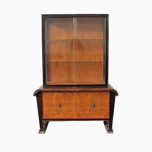 Art Deco Showcase Cupboard, 1930s