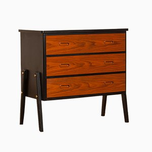 Small Teak Chest of Drawers from Gyllenvaans Möbler, 1950s