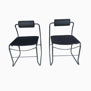 Vintage Memphis Dining Chair, 1980s, Set of 2