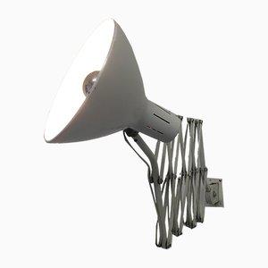 Lámpara acordeón industrial de H. Busquet para Hala, años 60