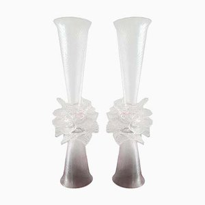 Vasos de Bořek Šípek para Ajeto, años 90. Juego de 2