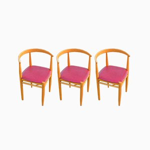 Vintage Lilla Carmen Chairs by Jack Ränge for Gemla Möbler, Set of 3