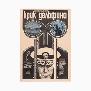 Sowjetisches Navy Ocean Filmplakat, 1987