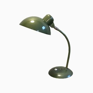 Vintage Industrial Green Desk Lamp, 1950s