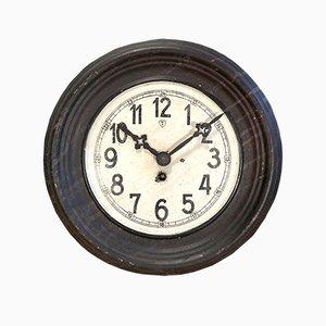 Reloj vintage de hierro, años 30