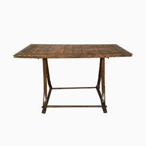 Tavolo da pranzo industriale, anni '60
