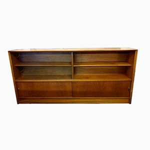 Mid-Century Low Teak Bookcase from Herbert Gibbs, 1950s