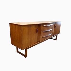 Mid-Century Sideboard aus Teak, 1960er