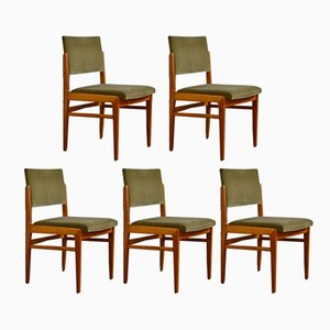 Vintage Chairs from Fröscher, 1970s, Set of 5