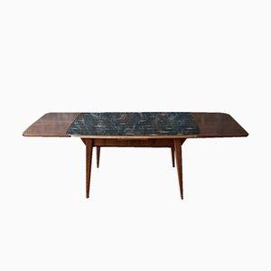 Tavolo in vetro nero di Kondor, anni '70