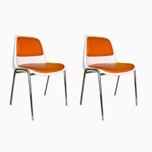 Europa Chairs by Helmut Starke for Tacke, Set of 2