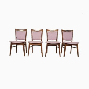 Mid-Century Dutch Dining Chairs, 1960s, Set of 4