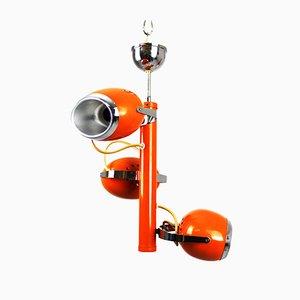 Lámpara de araña vintage de Goffredo Reggiani, años 60
