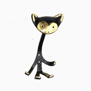 Colgador en forma de gato de Walter Bosse para Herta Baller, años 50