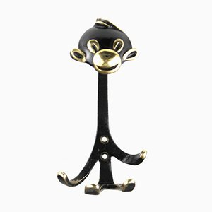 Monkey Coat Hook by Walter Bosse for Herta Baller, 1950s