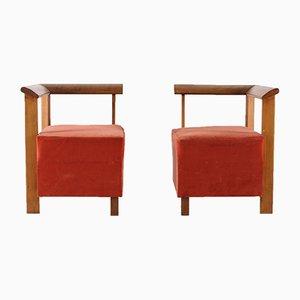 Sedie moderniste, anni '30, set di 2