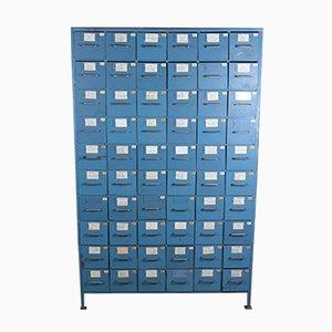 Vintage Industrial Steel Filing Cabinet, 1980s
