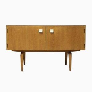 427/A Sideboard aus Schichtholz von Franz Ehrlich für VEB Deutsche Werkstätten Hellerau, 1960er
