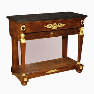 19th Century French Mahogany Console, 1830s
