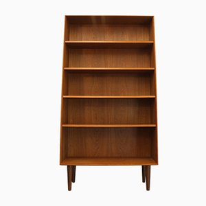 Vintage Danish Teak Book Case, 1960s