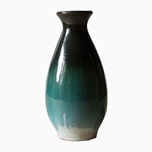 Grüne Vase von Łysa Góra Collective, 1970er
