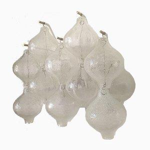 Vintage Wandlampe aus Muranoglas, 1960er