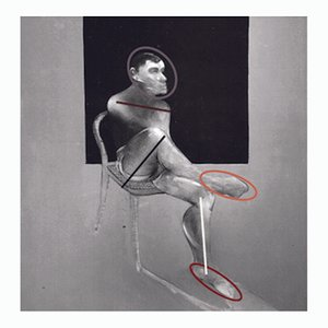 Arte contemporáneo francés, after Francis Bacon de Jean-Claude Byandb