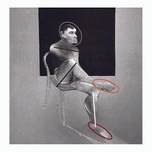 Zeitgenössische Französische Kunst, Nach Francis Bacon von Jean-Claude Byandb